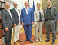 ADFC Bayern mit Minister Joachim Herrmann