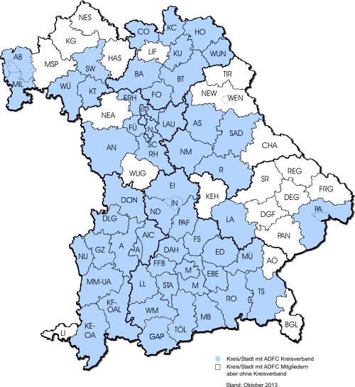 Landkreise Bayern